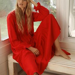 Wendy Tiered Maxi Dress By Maeve in Red Size M P   Anthropologie (US)