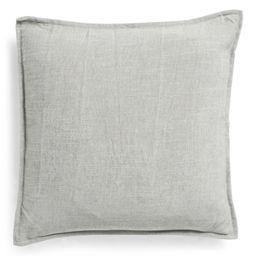 20x20 Solid Linen Blend Pillow | TJ Maxx
