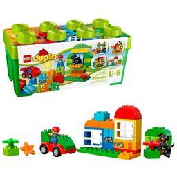 LEGO DUPLO All-in-One-Box-of-Fun Brick Box 10572 (65 Pieces) | Walmart (US)