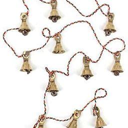 Rastogi Handicrafts Brass Decorative String of 11 Metal Vintage Indian Style Fair Trade Wall Hang... | Amazon (US)