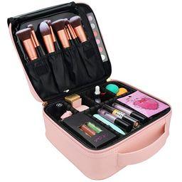 Relavel Makeup Case Travel Makeup Bag for Women Makeup Train Case Cosmetic Bag Toiletry Makeup Br...   Amazon (US)
