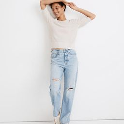 The Dadjean in Millman Wash: Ripped Edition | Madewell