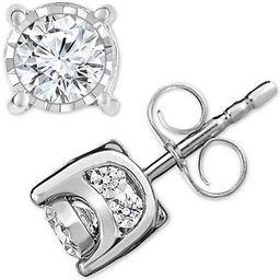 Diamond Stud Earrings (3/4 ct. t.w.) in 14k Gold, Rose Gold or White Gold   Macys (US)