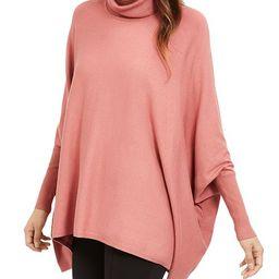 Turtleneck Poncho Sweater, Created for Macy's   Macys (US)