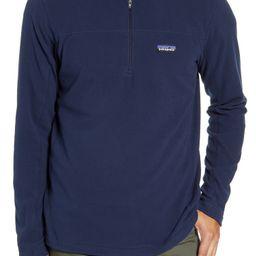 Micro D® Quarter-Zip Fleece Pullover   Nordstrom