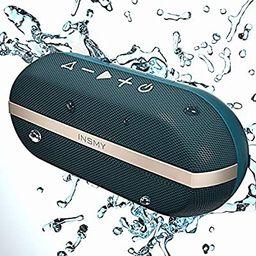 INSMY Portable Bluetooth Speakers, 20W Wireless Speaker Loud Stereo Sound Rich Bass, IPX7 Waterpr...   Amazon (US)