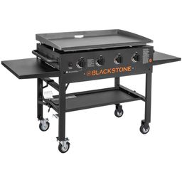 """Blackstone 4-Burner 36"""" Griddle Cooking Station with Side Shelves   Walmart (US)"""