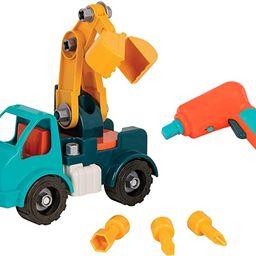 Battat - Take-Apart Crane – Take-Apart Toy Crane Truck with Toy Drill  Building Toys for Kid... | Amazon (US)
