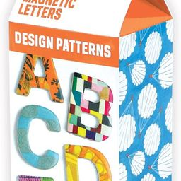 Cooper Hewitt Design Patterns Wooden Magnetic Uppercase Letters | Amazon (US)