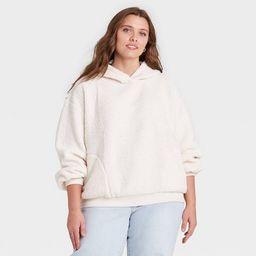 Women's Sherpa Hooded Sweatshirt - Universal Thread™ | Target