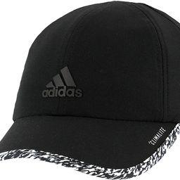 Amazon.com: adidas Women's Superlite Relaxed Adjustable Performance Cap, Black/White/3d Pixel, ON... | Amazon (US)