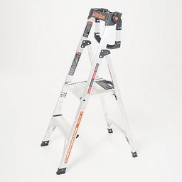 Little Giant Xtra-Lite Plus 4' Step Ladder w/ Handrail | QVC