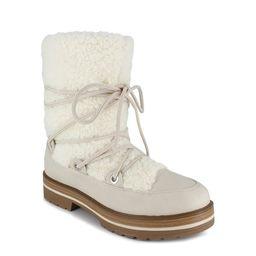 PORTLAND by Portland Boot Company Shearling Lace Up Boot (Women's)   Walmart (US)