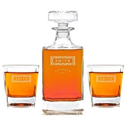 Whiskey Decanter: The Classic | Swanky Badger