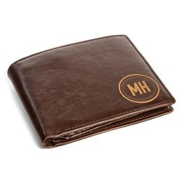 Personalized Wallet: Circle | Swanky Badger