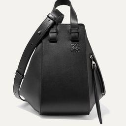 Loewe - Hammock Small Textured-leather Shoulder Bag - Black   Net-a-Porter (US)