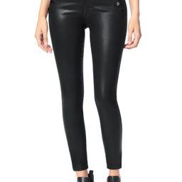 Women's Joe'S The Georgia Coated High Waist Ankle Skinny Jeans, Size 29 - Black   Nordstrom