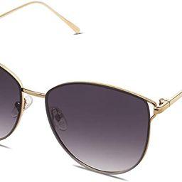SOJOS Mirrored Flat Lens Fashion Sunglasses for Women SJ1085 | Amazon (US)