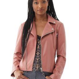 Scoop Women's Faux Leather Moto Jacket   Walmart (US)