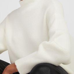 Cozy Mock Neck Sweater   Express