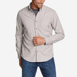 Eddie's Favorite Flannel Classic Fit Shirt - Solid   Eddie Bauer, LLC