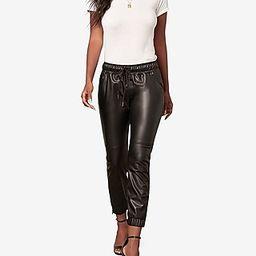 BB Dakota Faux Leather Jogger | Express