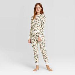Women's Thermal Pajama Set - Stars Above™ | Target