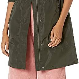 BCBGeneration womens Hooded Anorak With Waist Detail | Amazon (US)