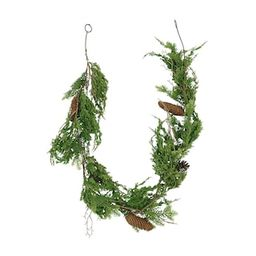 6ft. Pine Leaf & Pinecone Christmas Garland by Ashland® | Michaels Stores