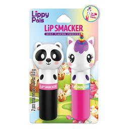 Lip Smacker Lippy Pals Panda and Unicorn Lip Balm -.28oz   Target