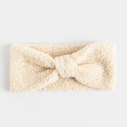 Kylie Sherpa Single Knot Earband | Francesca's Collections