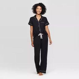Women's Beautifully Soft Notch Collar Pajama Set - Stars Above™ | Target