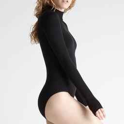 Madelyn Mock Neck Shaping Full Back Bodysuit | Yummie