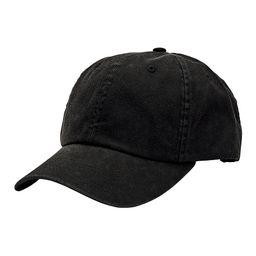 San Diego Hat Company Women's Baseball Caps black - Black Baseball Cap   Zulily
