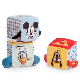 Mickey Mouse and Friends Soft Blocks for Baby   shopDisney