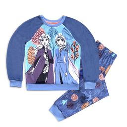 Elsa and Anna Velour Pajama Set for Girls – Frozen 2   shopDisney