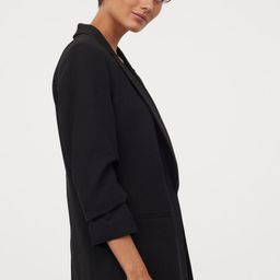 Jacket with Gathered Sleeves | H&M (US)