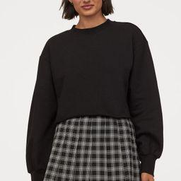 Cropped Sweatshirt | H&M (US)
