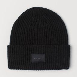 Rib-knit Hat | H&M (US)