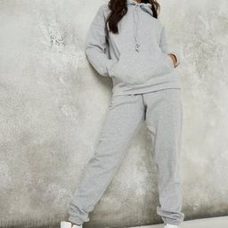 Gray Marl Oversized 90s Joggers | Missguided (US & CA)