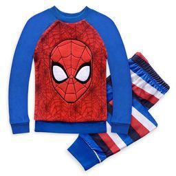 Spider-Man Fleece Pajama Set for Boys   shopDisney