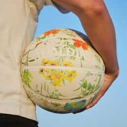 Spalding UO Exclusive Floral Basketball | Urban Outfitters (US and RoW)