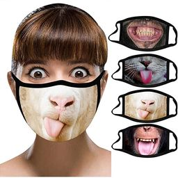 Sayingning Washable Reusable Face_Mask for Adult, Halloween Printed Face Mouth Cover Breathable F... | Amazon (US)