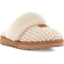 Cozy Knit Genuine Shearling Slipper   Nordstrom