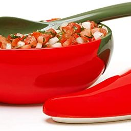Prepworks by Progressive Salsa Bowl with Spoon - Great for Homemade Salsa and Pico De Gallo, Dips... | Amazon (US)