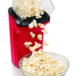 Hamilton Beach Electric Hot Air Popcorn Popper, Healthy Snack, Makes up to 18 Cups, Red (73400)   Amazon (US)