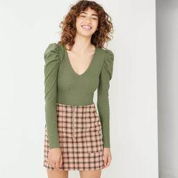 Women's Puff Long Sleeve Bodysuit - Wild Fable™ | Target