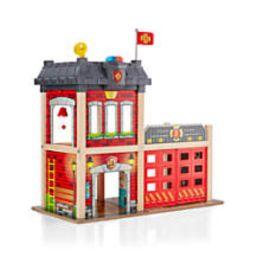 Hape Firehouse Play Set + Reviews | Crate and Barrel | Crate & Barrel
