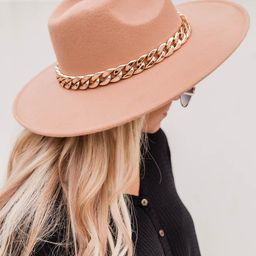 Speechless Entrance Taupe Hat   The Pink Lily Boutique