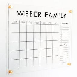 Acrylic Wall Calendar  Clear Calendar Wall Acrylic  | Etsy | Etsy (US)